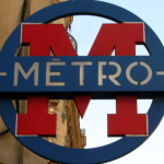 Symbole du métro à Paris