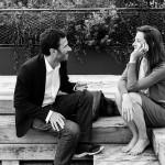 Discussion lors d'une rencontre entre un homme et une femme